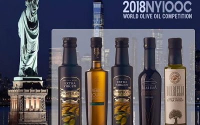 "CONCURSO ""NEW YORK INTERNATIONAL OLIVE OIL COMPETITION"" – 2018"