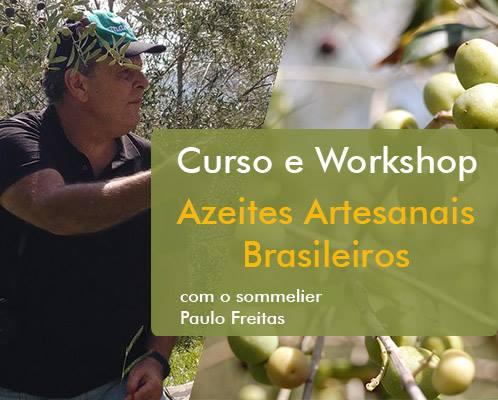 WORKSHOP AZEITES ARTESANAIS BRASILEIROS